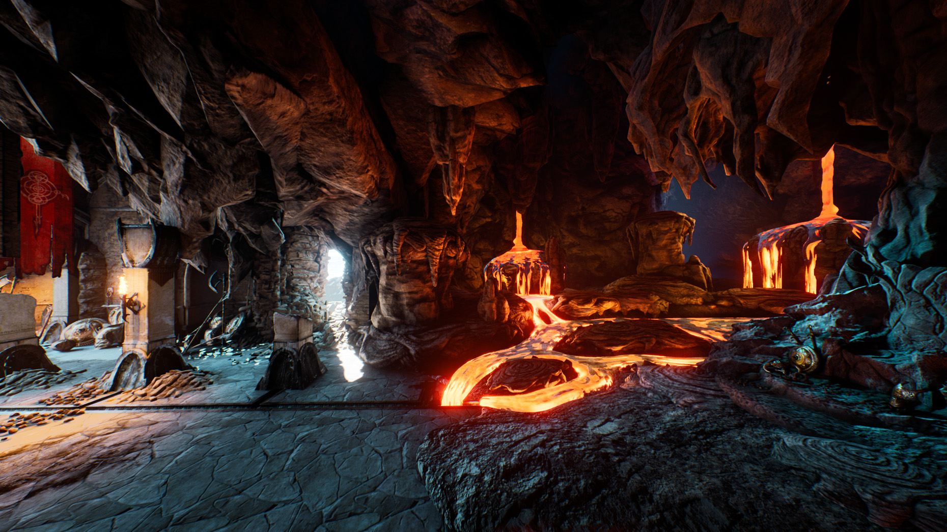 Lava Cave Lighting - 2
