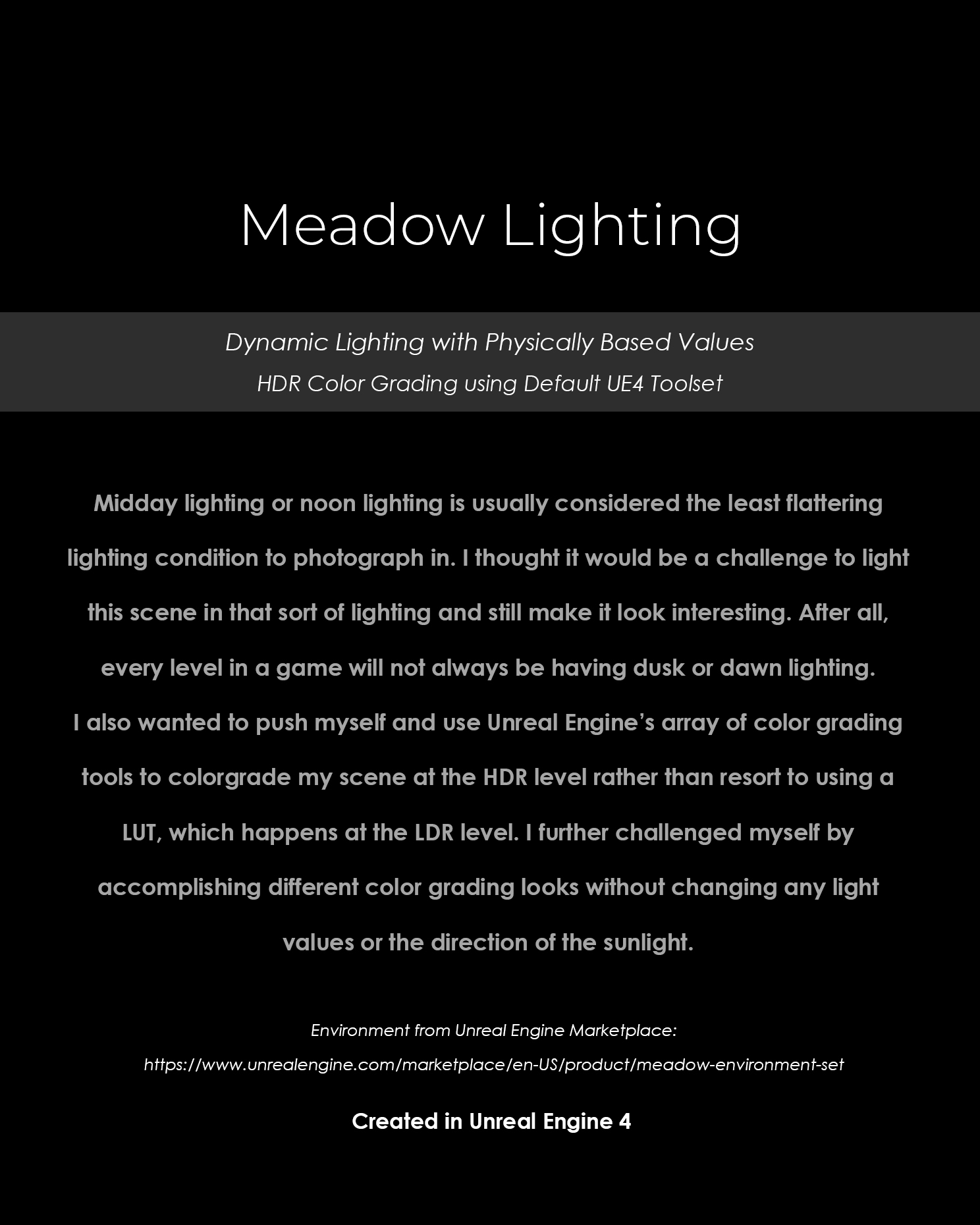 Title Page - Meadow Lighting